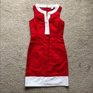 Vineyard Vines Red White Dress